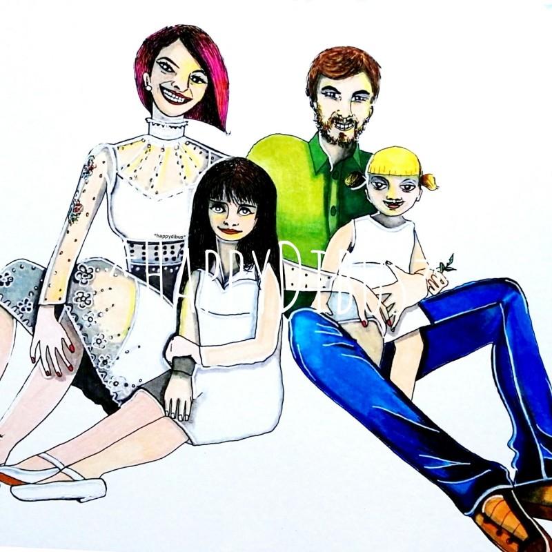 HappyDibus Ilustraciones Personalizadas